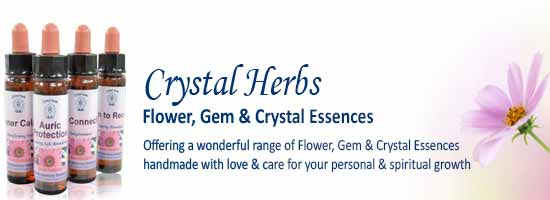 Handmade Essences from Crystal Herbs