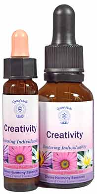 Creativity Essence - 10ml and 25ml bottles of creativity combination